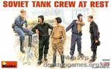 MA35009 Soviet tank crew at rest