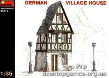 MA35012 German village house