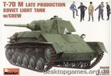 MA35030 T-70M Soviet light tank, late with crew