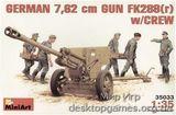 MA35033 FK288r German 76,2mm gun with crew