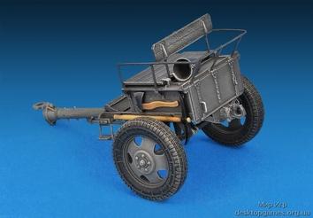 Немецкий артиллерийский тягач Т-70 (R) с 7,62 см FK 288 (R) - фото 10