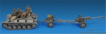 Немецкий артиллерийский тягач Т-70 (R) с 7,62 см FK 288 (R) - фото 13