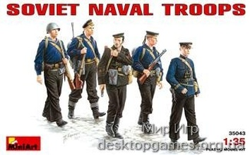 MA35043 Soviet naval  troops