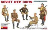 MA35049 Soviet jeep crew