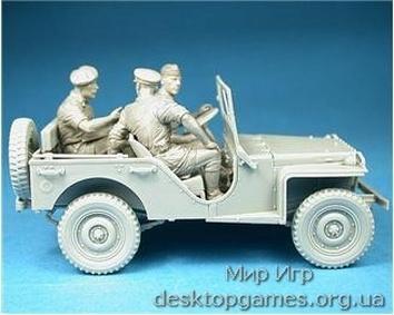 Британский коммандирский автомобиль с экипажем - фото 2