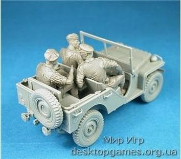 Британский коммандирский автомобиль с экипажем - фото 3