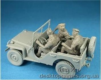 Британский коммандирский автомобиль с экипажем - фото 4
