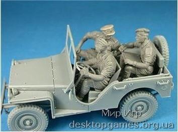 Британский коммандирский автомобиль с экипажем - фото 5