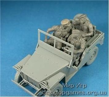 Британский коммандирский автомобиль с экипажем - фото 6