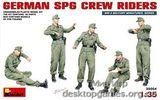 MA35054 German SPG crew riders
