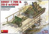 MA35056 Soviet T-70M & ZiS-3 w/CREW