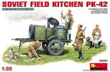Soviet Field  Kitchen KP-42
