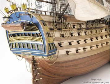 Модель деревянного парусника для склеивания SANTA ANA - фото 2