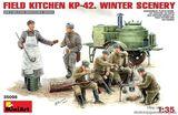 Полевая кухня KП-42. Зима.