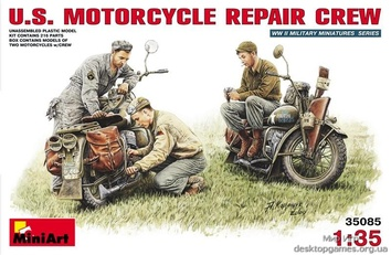Американские мотоциклы на ремонте