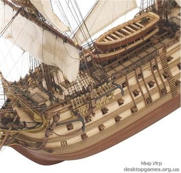 Модель деревянного парусника для склеивания SANTA ANA - фото 3