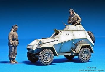 БА-64(р) в частях немецкой армии с экипажем - фото 8