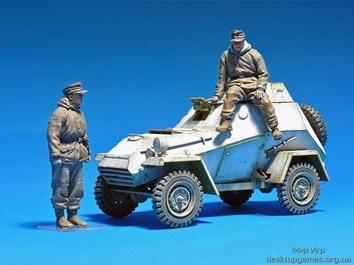 БА-64(р) в частях немецкой армии с экипажем - фото 10
