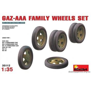 GAZ-AAA  family wheels set
