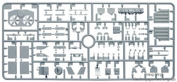 Британский танк Валентайн Мк 1 с командой (c интерьером) - фото 4