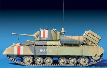 Британский танк Валентайн Мк 1 с командой (c интерьером) - фото 6