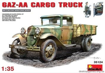 GAZ-AA CARGO TRUCK 1.5t TRUCK