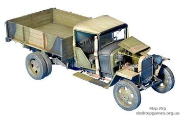Грузовик ГАЗ-ММ, образца 1941г. - фото 2