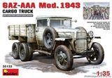 Грузовик ГАЗ-ААА, модель 1943