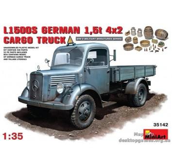 Немецкий грузовой автомобиль L1500S / German cargo truck L1500S