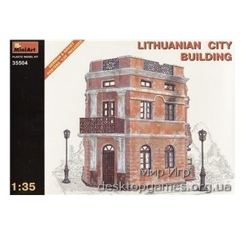 MA35504 Lithunianan city building