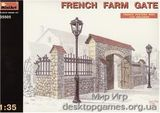 MA35505 French farm gate