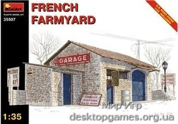 MA35507 French farmyard