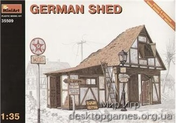 MA35509 German shed