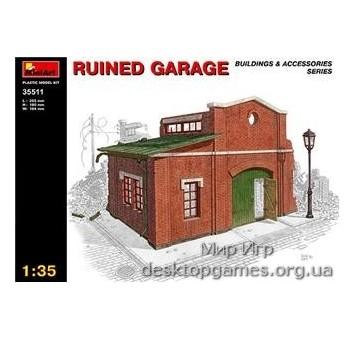 MA35511 Ruined garage