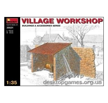 MA35521 Village  workshop