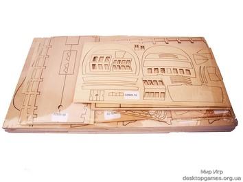 Модель деревянного парусника для склеивания SANTA ANA - фото 6