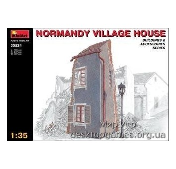 MA35524 Normandy village house