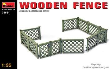 Миниатюра: Деревянный забор