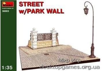 MA36003 Diorama with park wall