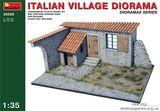 Сборная модель диорамы Италианское село