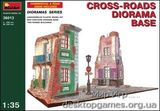 MA36013  Cross-roads diorama base