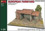 MA36017 European farmyard