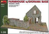 MA36018 Farmhouse w/diorama base