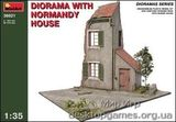 MA36021 Diorama with Normandy house
