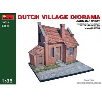 Диорама: Голландское село