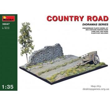 Миниатюра: сельская дорога