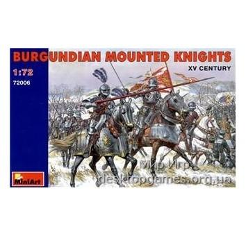 MA72006 Burgundian mounted knights XV century