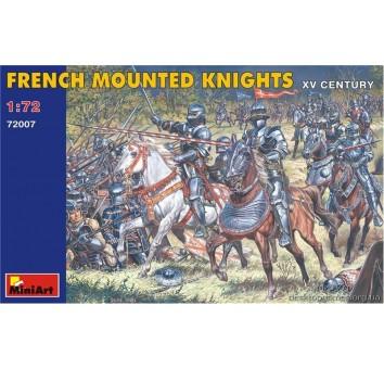 Французские конные рыцари XV век