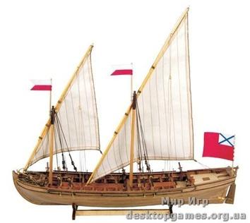 Дуббель шлюпка Российского Императорского Флота 1736-1737 гг