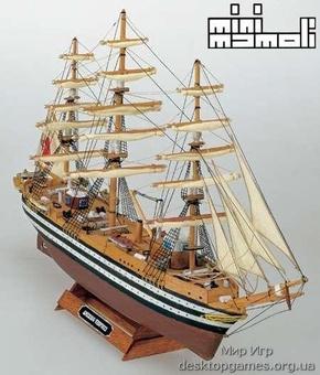 Сборная модель из дерева «Америго Веспуччи» («Amerigo Vespucci mini»)